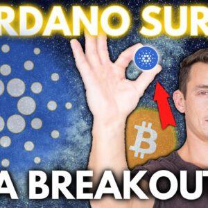 CARDANO (ADA) BREAKOUT! Cardano Better Than Ethereum & Bitcoin | Crypto News, Elon Musk Tweet