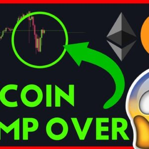 IS THE DUMP OVER? BITCOIN AND ETHEREUM ANALYSIS!