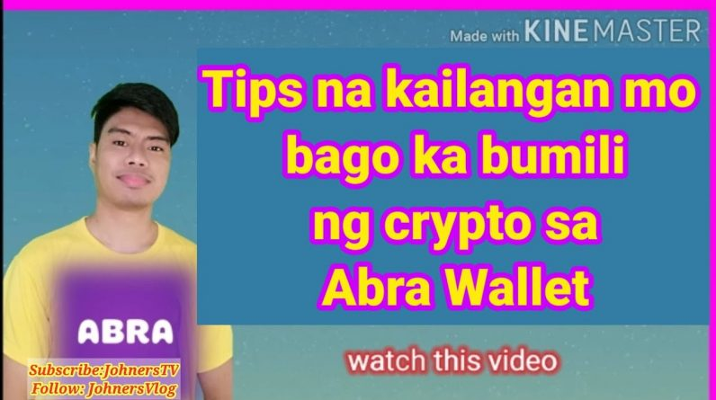 Tips kung kailan pinakamagandang mag buy ng crypto sa Abra | best time to trade in crypto #trading